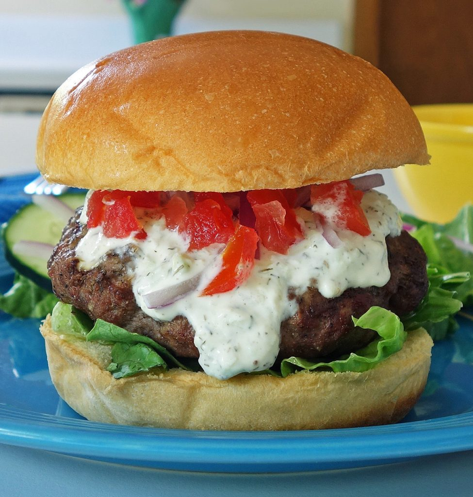 how to make homemade lamb burgers
