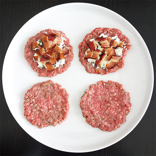 jalapeno popper burger patties